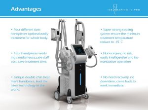 Cryolipolysis - Ice Shaping IV Pro